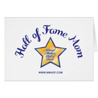 Hall Of Fame Mom Greeting Card