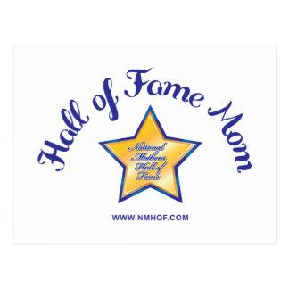 Hall Of Fame Mom Postcard