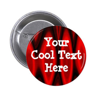 Hall of Flame Template 6 Cm Round Badge