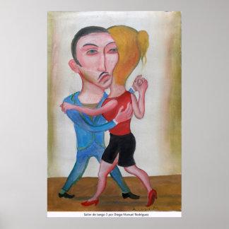 Hall tango 3 poster