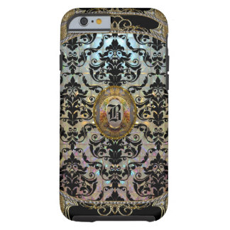 Halleesham Elegant Damask Monogram Tough iPhone 6 Case