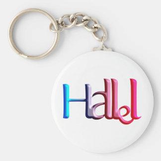 Hallel.png Key Ring