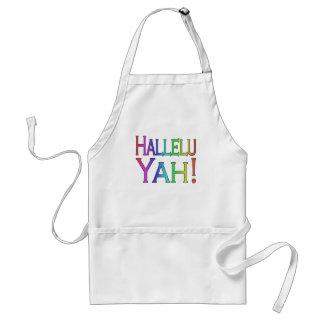 Hallelu Yah! (rainbow) Aprons