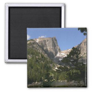 Hallett Peak Square Magnet