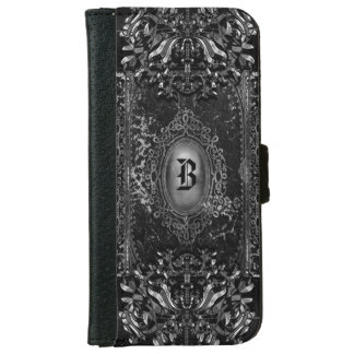 Hallow Shade 6/6s Victorian Goth Monogram iPhone 6 Wallet Case