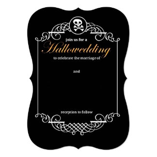 Hallowedding Card