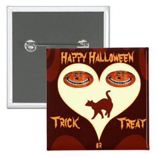 Halloween #2_ 15 cm square badge
