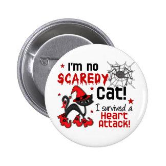 Halloween 2 Heart Attack Survivor Pinback Button