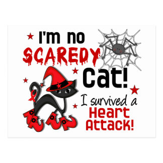 Halloween 2 Heart Attack Survivor Postcard