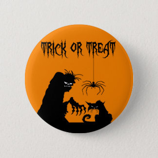 Halloween 6 Cm Round Badge