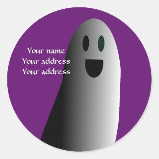Halloween address label stickers