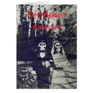 Halloween Anniversary Card