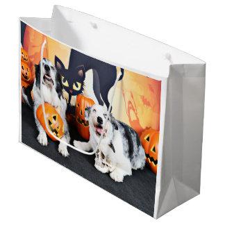 Halloween - Aussie - Oscar & Felix Large Gift Bag