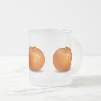 Halloween/Autumn Pumpkin Frosted Mug