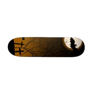 Halloween Background Skate Board