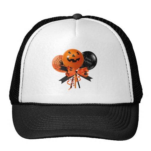 Halloween Balloons Trucker Hat