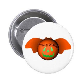 Halloween Baseball Bat Pins