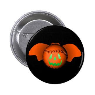 Halloween Baseball Bat Pin