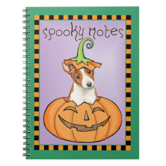 Halloween Basenji Notebooks