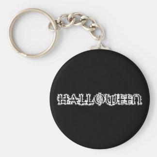 Halloween Basic Round Button Key Ring