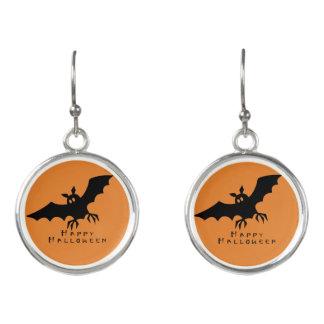 Halloween Bat Earrings by Julie Everhart