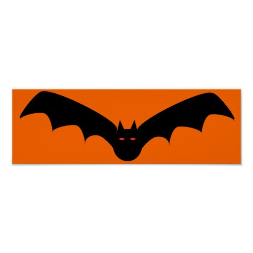 Halloween Bat Framed Print