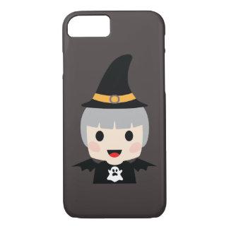 Halloween Bat Girl iPhone 8/7 Case