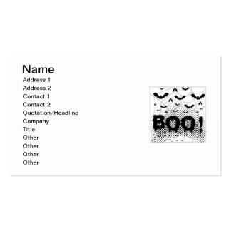 Halloween bats from Hell Pack Of Standard Business Cards