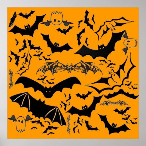 Halloween Bats Print