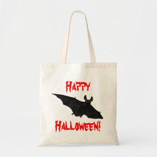 Halloween Bats Scary Vampire Bat Design Canvas Bag