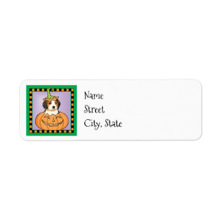 Halloween Beagle Return Address Label
