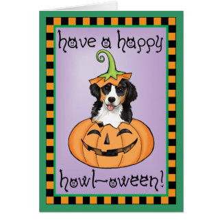 Halloween Berner Card