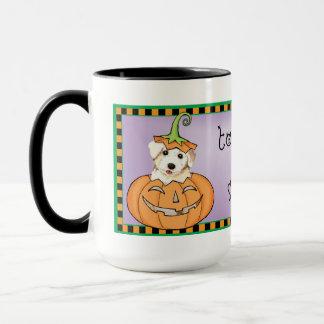 Halloween Bichon Mug