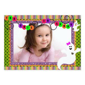 Halloween Birthday Ghoost Card