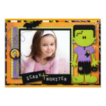 Halloween Birthday Personalised Announcements