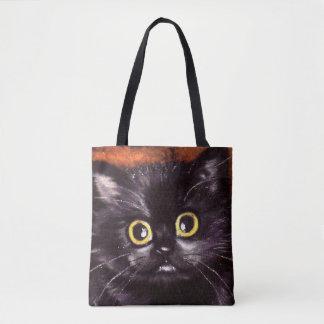 Halloween Black Cat Dracula Trick-Or-Treat Bag