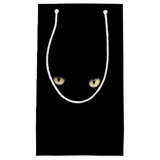 Halloween Black Cat Eyes Gift Bag
