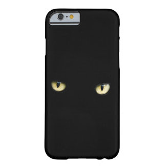 Halloween Black Cat Eyes Phone Case Barely There iPhone 6 Case