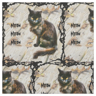 Halloween Black Cat Pet Photography Fabric