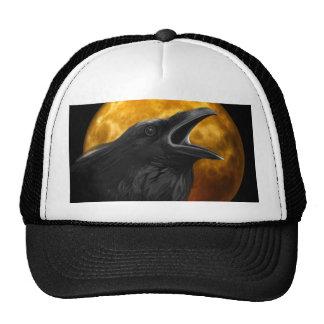 Halloween Black Crow Cap