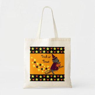 Halloween Black Labrador Cartoon 1 Tote Bag