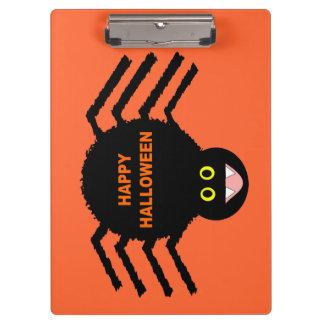 Halloween Black Spider Clipboard
