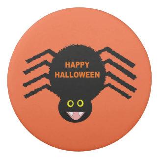Halloween Black Spider  Eraser
