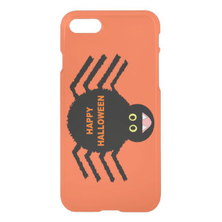 Halloween Black Spider iPhone Case