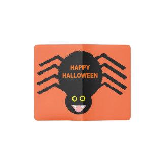 Halloween Black Spider Notebook Cover