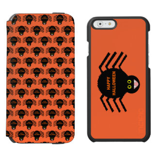 Halloween Black Spider Phone Wallet Case Incipio Watson™ iPhone 6 Wallet Case