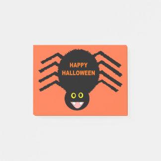 Halloween Black Spider Post it notes Pad