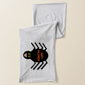Halloween Black Spider Scarf