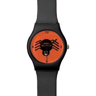 Halloween Black Spider Watch