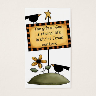Halloween Blessings For Trick or Treaters - 2 Business Card